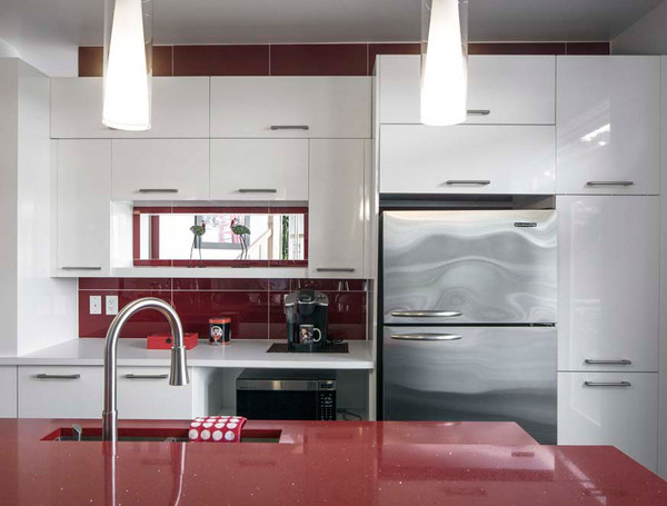 armoires de cuisine blanches - photo #35