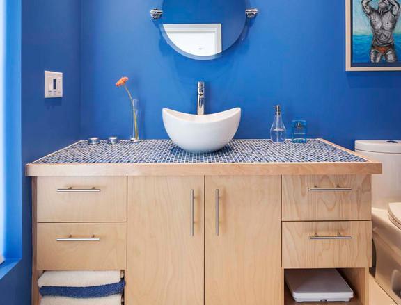 Contemporain cuisitec for Peinturer un comptoir de salle de bain